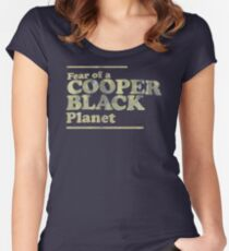 Fear Of A Cooper Black Planet PK419 Best Trending Women's Fitted Scoop T-Shirt
