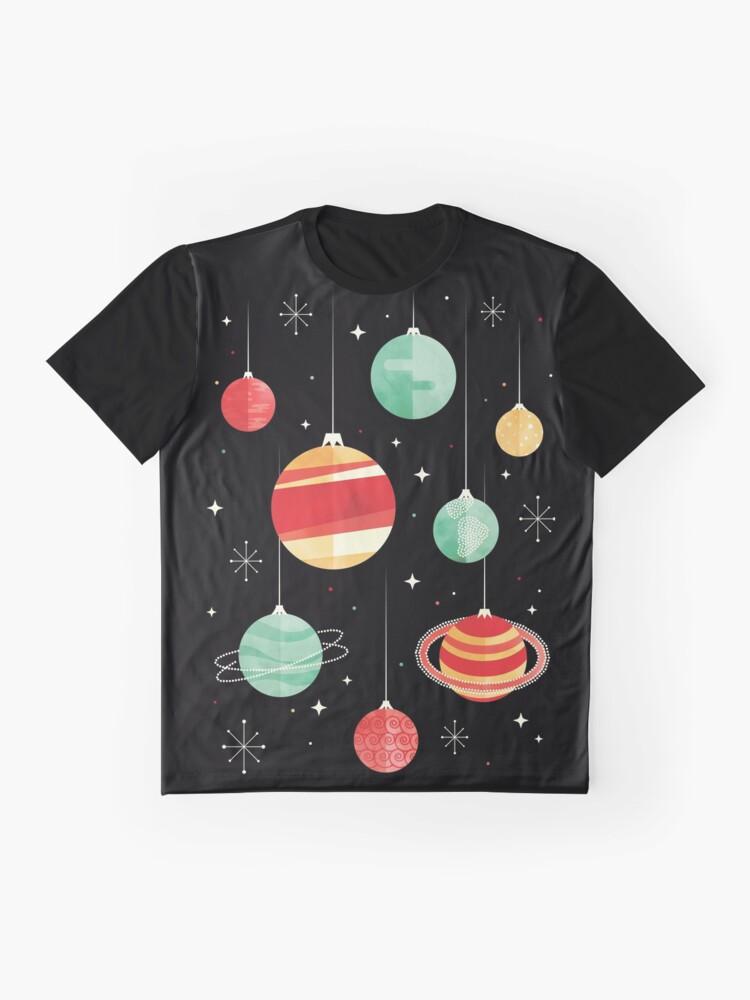 Alternative Ansicht von Freude für das Universum Grafik T-Shirt