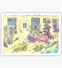 The Potting Shed Sticker