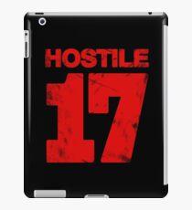 Hostile 17 iPad Case/Skin