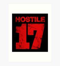 Hostile 17 Art Print