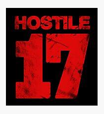 Hostile 17 Photographic Print