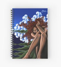 EnvironMental - Original Art from Shee - Surreal Worlds Spiral Notebook