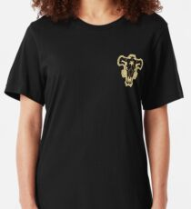 Black Clover Black Bulls  Slim Fit T-Shirt