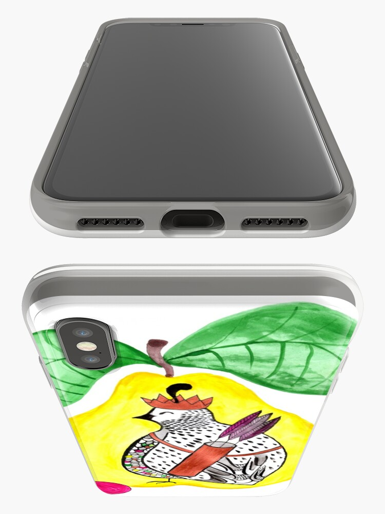 Alternate view of Quail in a Quince iPhone Cases & Covers