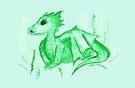 Little Dragon by makemerriness