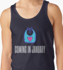 January Due Date Men's Tank Top
