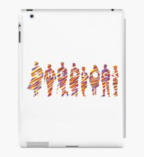 Sherlock squad silhouette tricolours - BBC Sherlock iPad Case/Skin