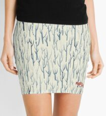 Winter Wood Mini Skirt