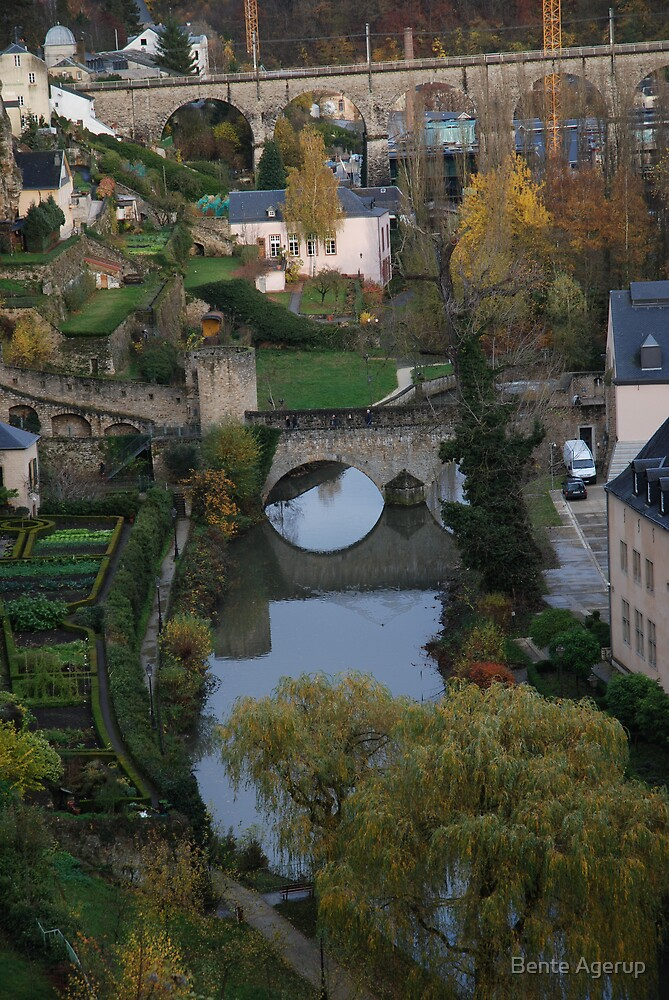Luxembourg city by Bente Agerup