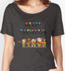 Christmas t shirts for family Women's Relaxed Fit T-Shirt