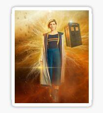 13th Doctor Sticker