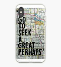 I Go to Seek a Great Perhaps ~ Quote  iPhone Case