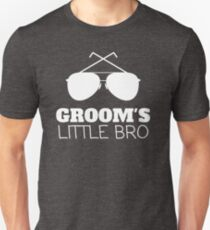 Grooms Little Bro Wedding Unisex T-Shirt