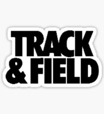 track and field  Sticker