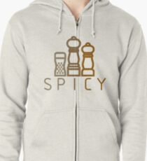 spicy spices Zipped Hoodie