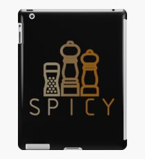 spicy spices iPad Case/Skin