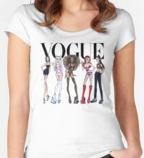 VOGUE - SPICE GIRLS Women's Fitted Scoop T-Shirt