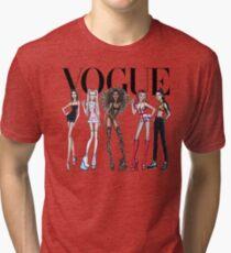 VOGUE - SPICE GIRLS Tri-blend T-Shirt