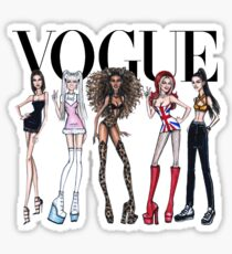 VOGUE - SPICE GIRLS Sticker