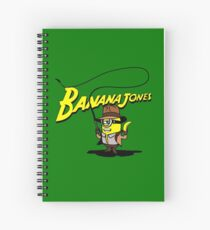 BANANA JONES AND THE GOLDEN BANANA Spiral Notebook