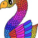 Colourful Bird Number 2 by Shelly Still