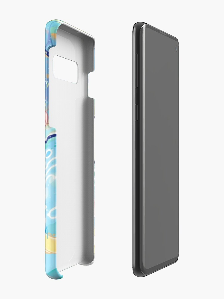 Alternate view of fizz Case & Skin for Samsung Galaxy