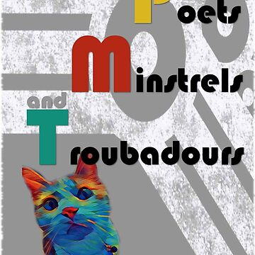 Poets Minstrels and Troubadours by GreenTeacup