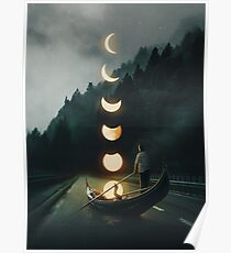Moon Ride Poster
