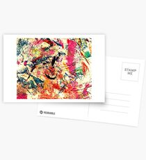 Funky Colours Postcards