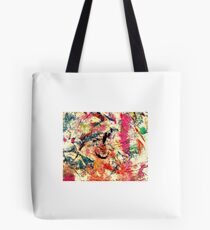Funky Colours Tote Bag