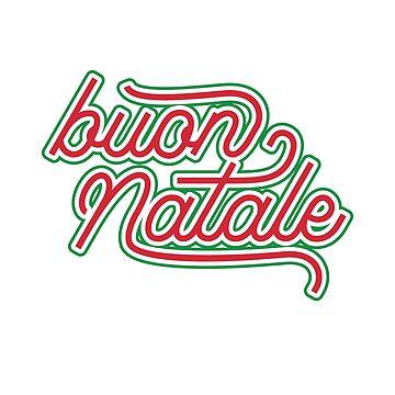 Italian Merry Christmas - buon Natale by albertellenich