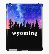 Cosmic Wyoming iPad Case/Skin
