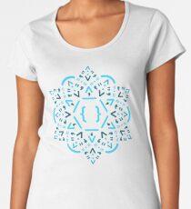 Code Mandala - React Framework Women's Premium T-Shirt
