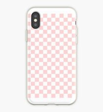 Pink Checkerboard iPhone Case