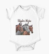 Skyler Hope Horses One Piece - Short Sleeve