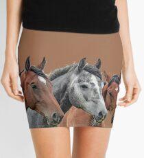 Skyler Hope Horses Mini Skirt