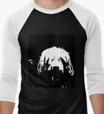 otterhound custom Men's Baseball ¾ T-Shirt