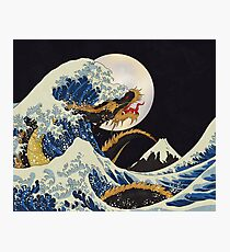 Dragon Wave Photographic Print
