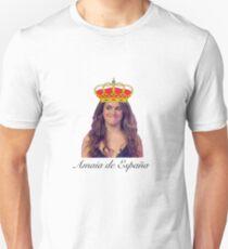 Amaia Romero de España (OT) name version Slim Fit T-Shirt