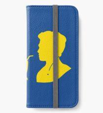 Milkshake Silhouette (J+A | Yellow) iPhone Wallet/Case/Skin