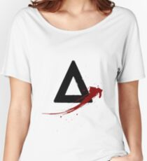 Bastille (triangle logo) Women's Relaxed Fit T-Shirt