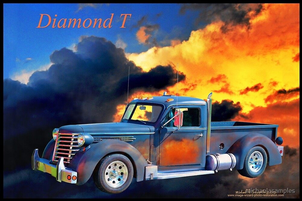 Diamond T Rides On by michaelasamples