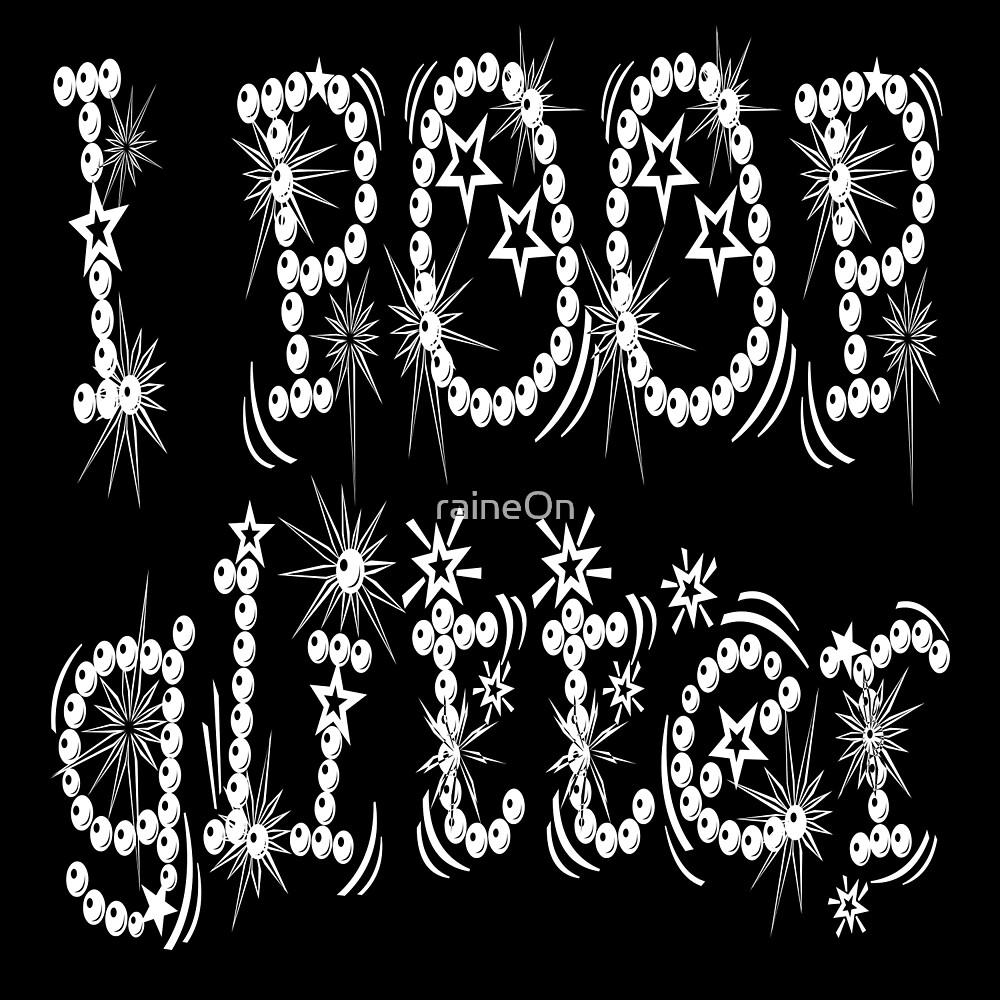 I Poop Glitter (white) by raineOn