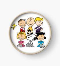 Charlie Brown, Snoopy and Peanuts Gang Clock