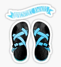 Blue Chacos Sticker