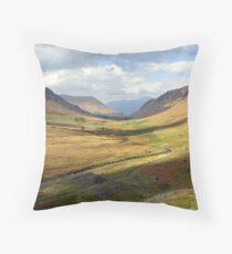 Newlands Valley Throw Pillow