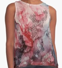 From the Core, Abstract Painting Contrast Tank