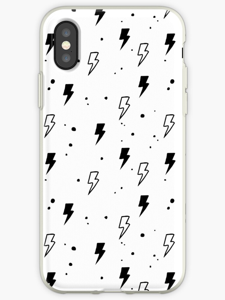 new product e4f72 da065 'Lightning Bolt Pattern' iPhone Case by moisi