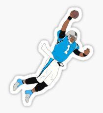 Cam Newton Dunk Sticker